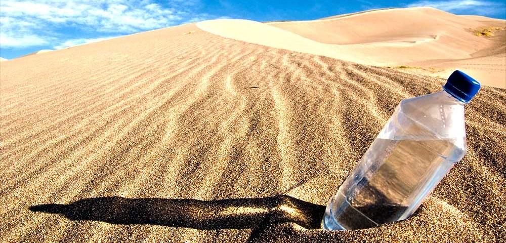 Добыча и поиск воды в пустыне