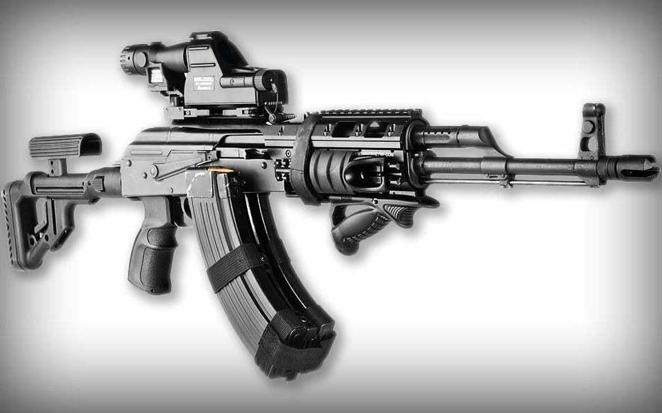 В США начали продавать автомат Калашникова АК-47 собственного производства