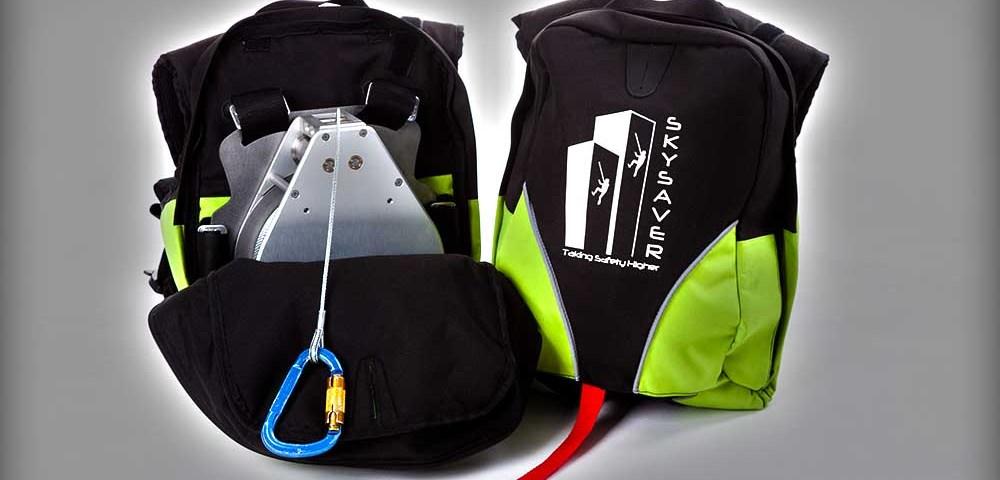 SkySaver - спасательный рюкзак для эвакуации из горящего дома