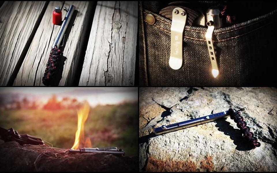 """Endure Survival Pen: Титановая ручка """"выживания"""" для EDC"""