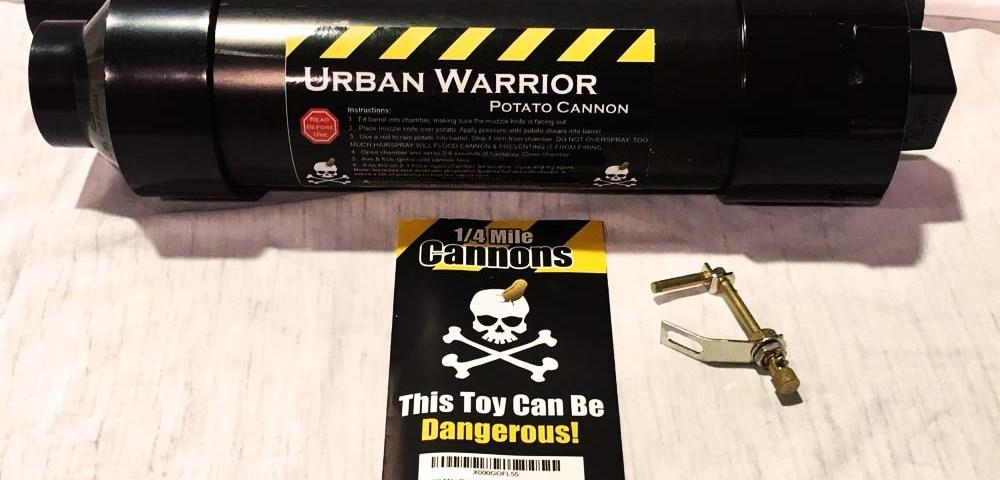 Пушка Urban Warrior, которая стреляет картошкой