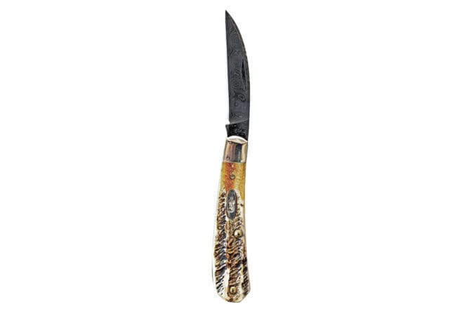 Складные ножи из дамаска - Last Day Club