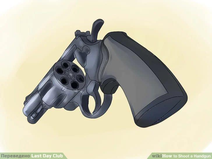 1. ВСЕГДА В первую очередь проверяйте, заряжен ли пистолет