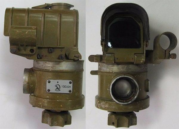 В ЗПУ-1 использовался уже более совершенный прицел ВК-4(М).