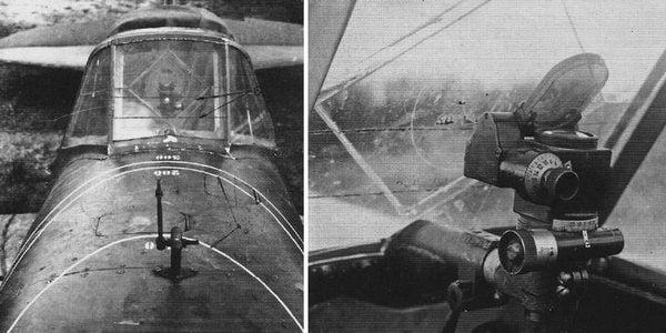 Прицел ПБП-1 устанавливался на штурмовиках Ил-2.
