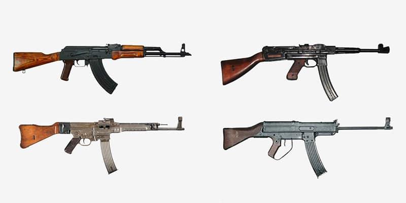 «Калаш», StG 44, ППШ-2 и автомат Хорна (Grossfuss Sturmgewehr)