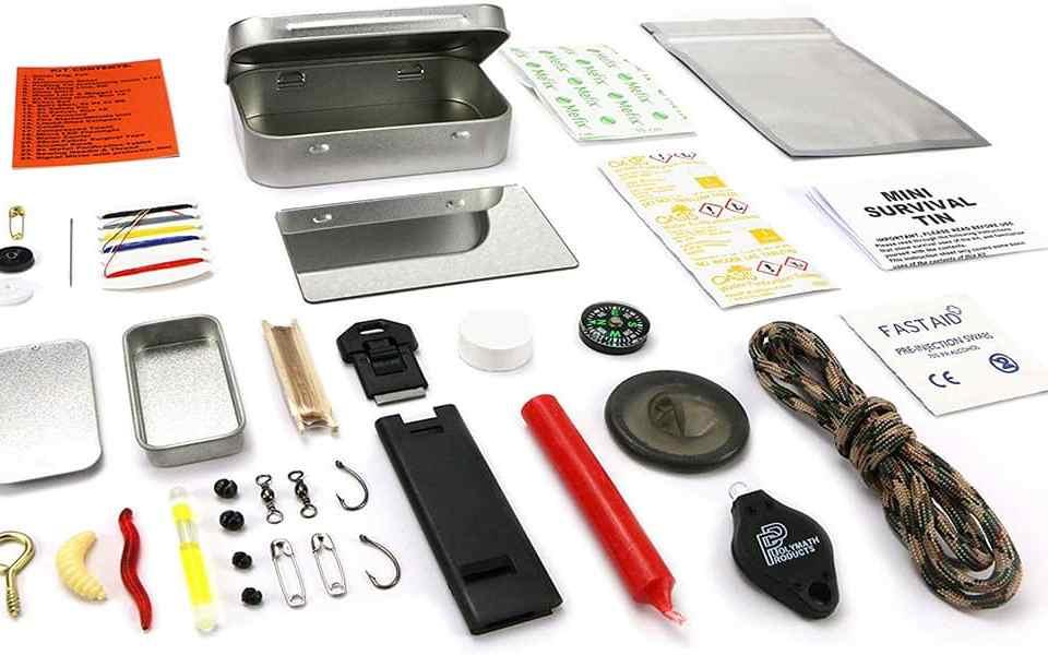 Polymath Survival Kit - Сверхкомпактный набор для выживания за $15 - Last Day Club