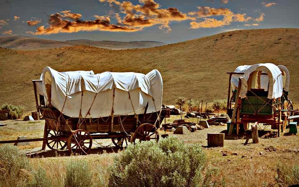Выживание в дороге - Опыт американских переселенцев-караванщиков - Last Day Club