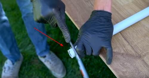 как сделать лук и стрелы из ПВХ-трубы