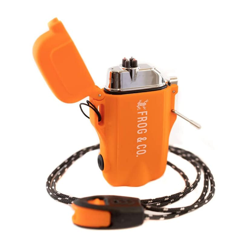 Зажигалка для выживания Survival Frog Waterproof Tough Tesla Lighter