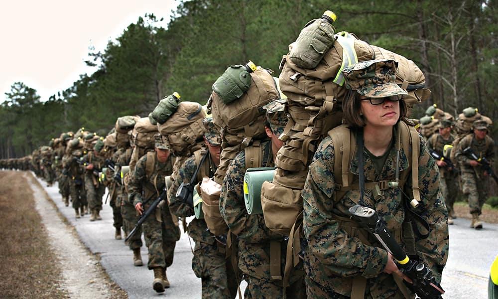 Курс походной подготовки британского спецназа SAS и морской пехоты США