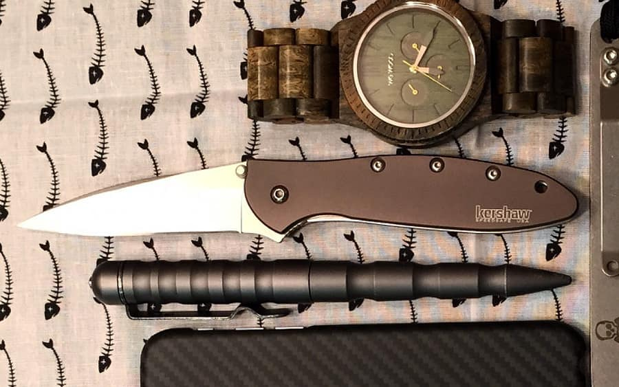 4 - Kershaw Leek Copper - Лучшие EDC-ножи с медными рукоятками Топ-10 моделей за 2020 год - Last Day Club