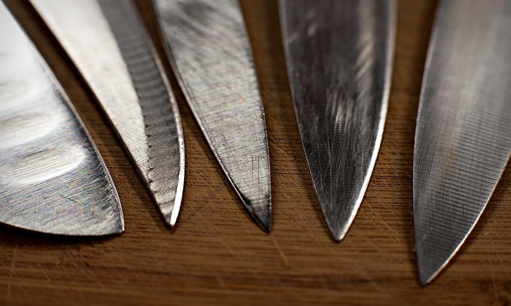 Угол заточки ножа - как выбрать, какие факторы влияют