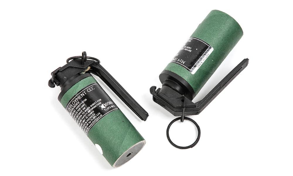 """3-2 - IWA International M14 Smoke Grenade - Снаряжение для выживания - """"карманные"""" средства подачи сигнала бедствия - Last Day Club"""