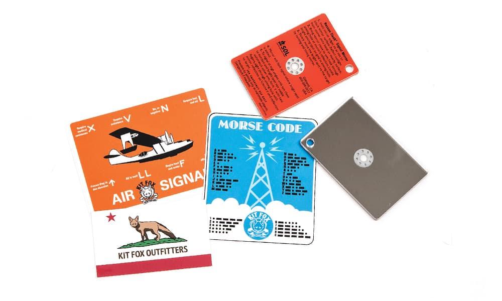 """4-2 - SOL Rescue Flash Signal Mirror - Снаряжение для выживания - """"карманные"""" средства подачи сигнала бедствия - Last Day Club"""