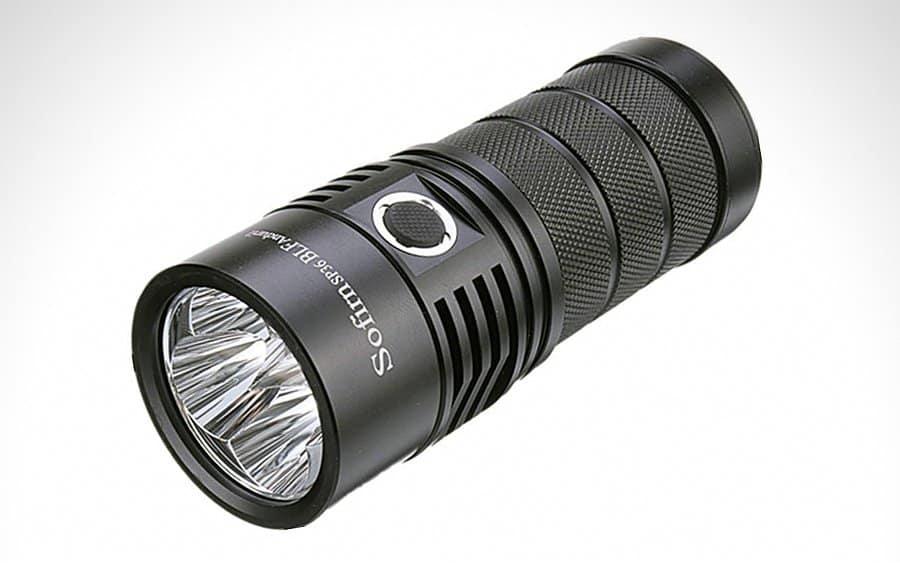 9 - Sofirn BLF SP36 Tactical Flashlight - Тактические фонари - лучшие модели за 2020-й год