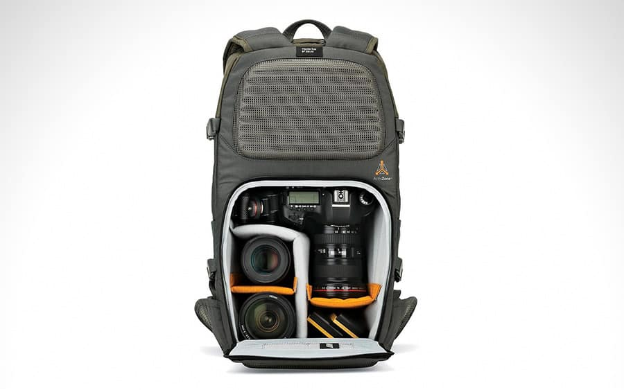 Lowepro Flipside Trek BP 350 AW Backpack - Лучшие повседневные рюкзаки и EDC-сумки для фотоаппарата 2020