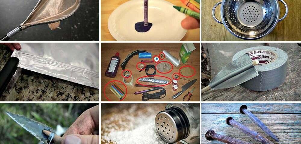 50 необычных способов применения обычных предметов в выживании