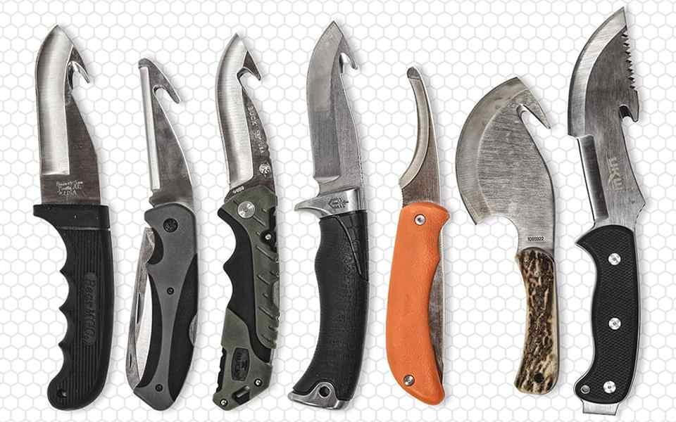 Для охоты и выживания - Шкуросъёмные ножи с лезвием-крюком
