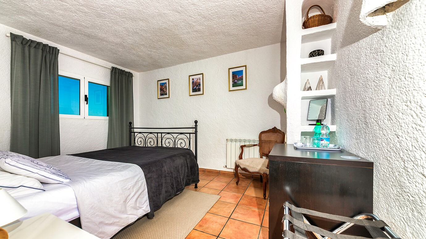Costa-Blanca, Jávea, Casa-Asombrosa, uitzicht, Ingang, villa, gasten-kamer