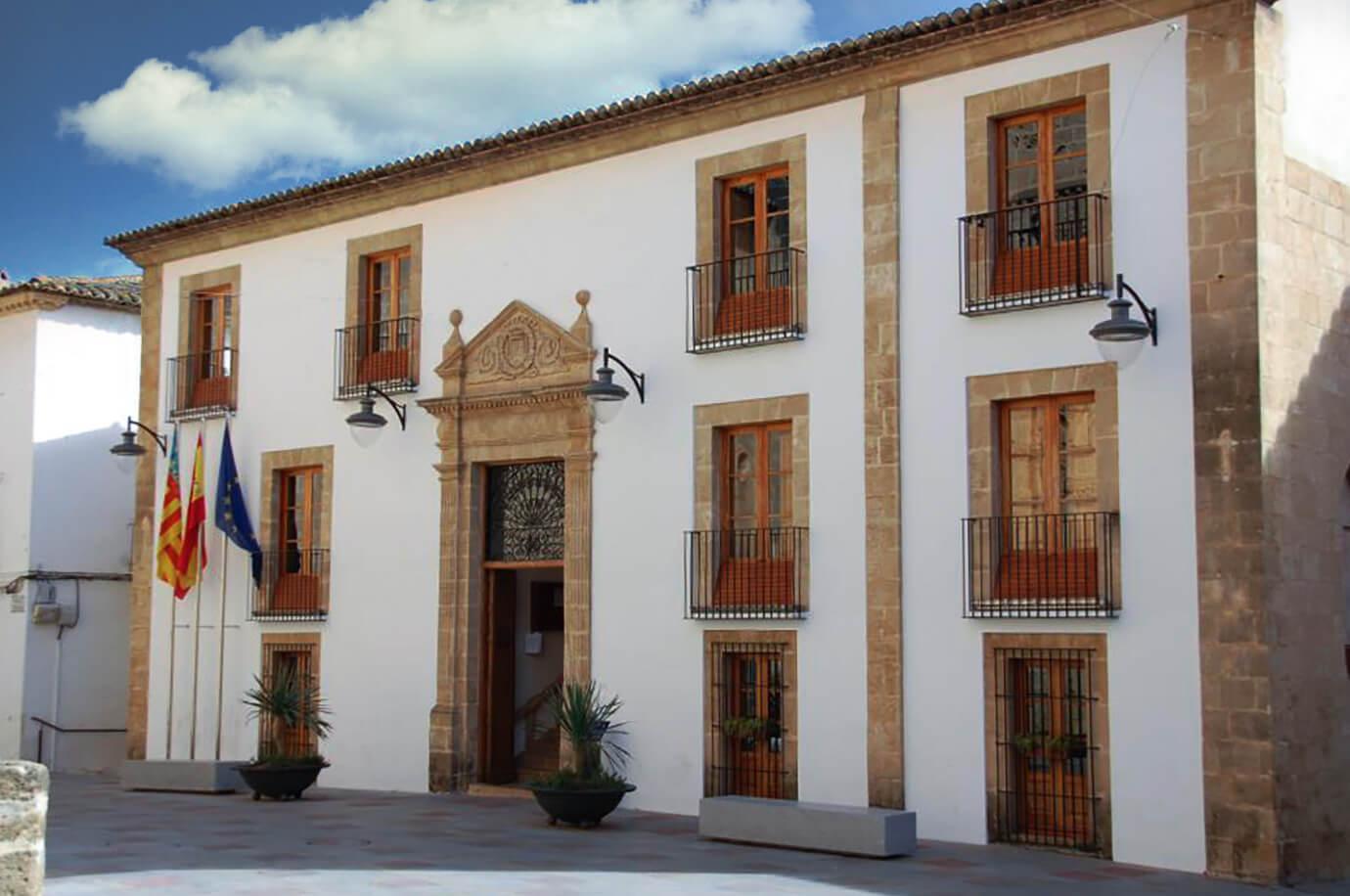 gemeenthuis Jávea, provincie Alicante, Costa Blanca