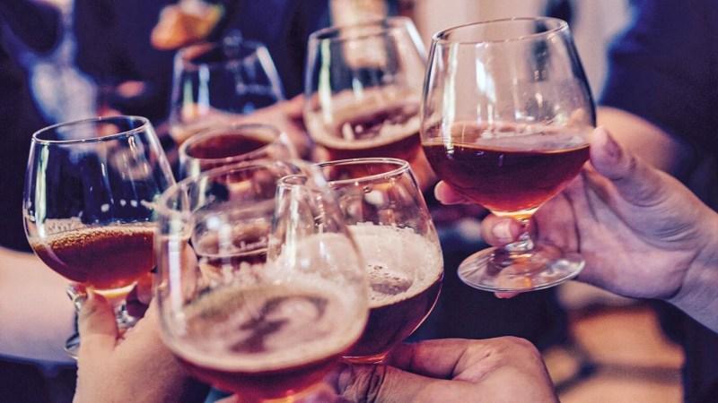 bier drinken als een Spanjaard