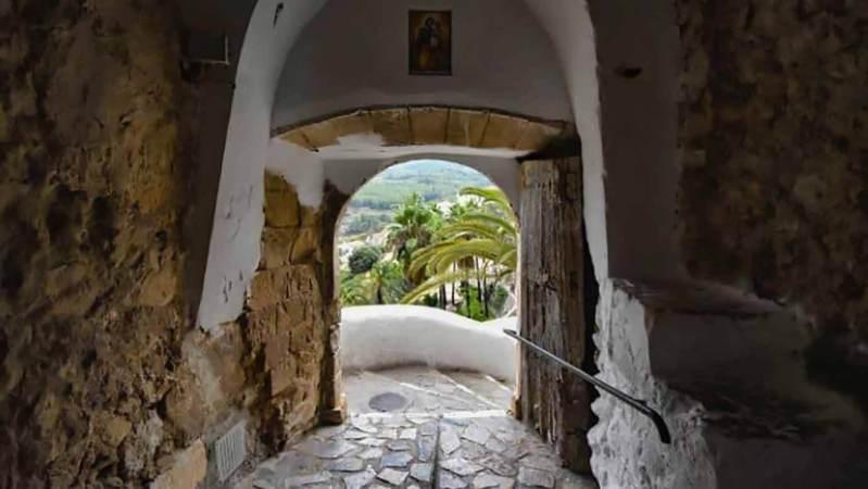Guadalest het oude bergdorpje