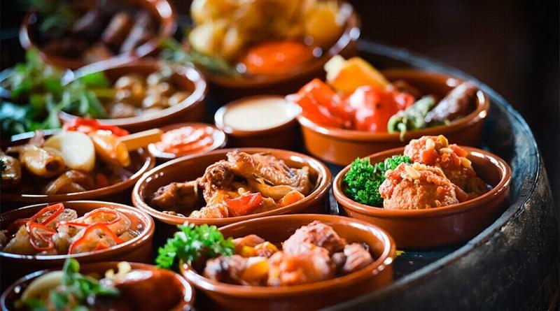 Hou het Spaans, valentijn menu