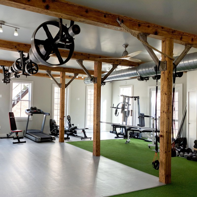 workout facility at MoreFit health club