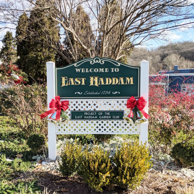 East Haddam Welcome Sign