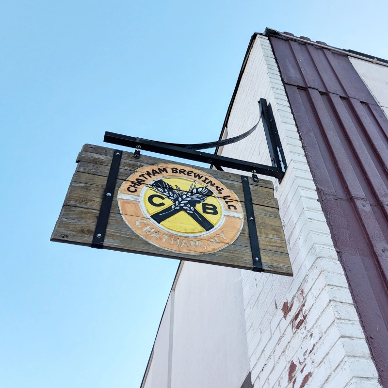 Chatham Brewery sign