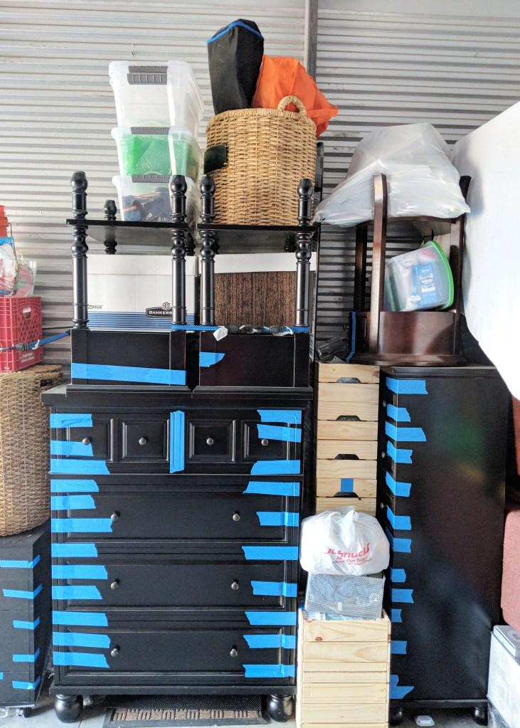 storage unit with bedroom dresser