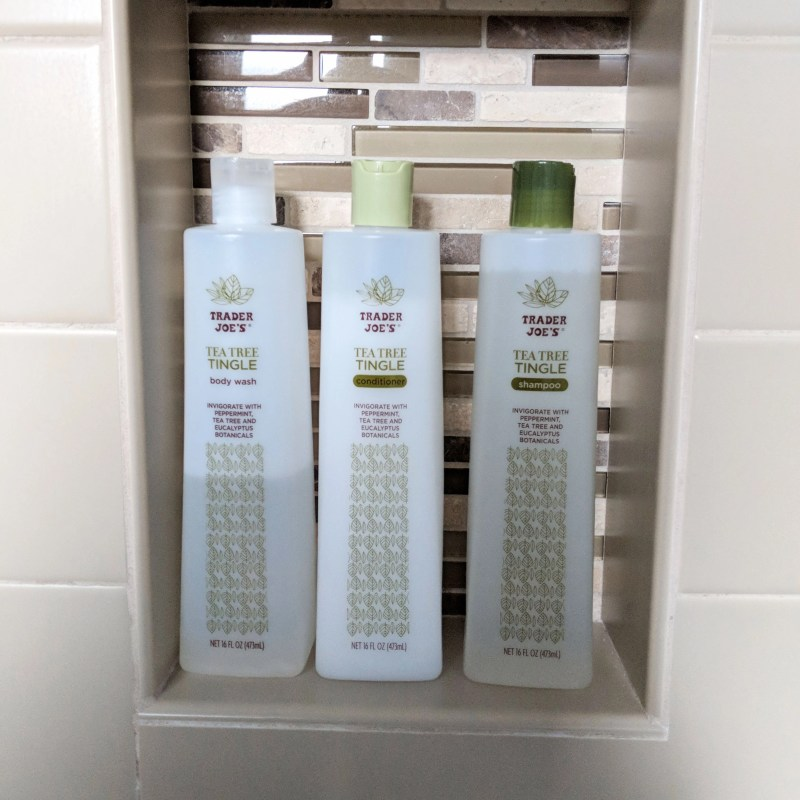 trader joes tea tree tingle shampoo set