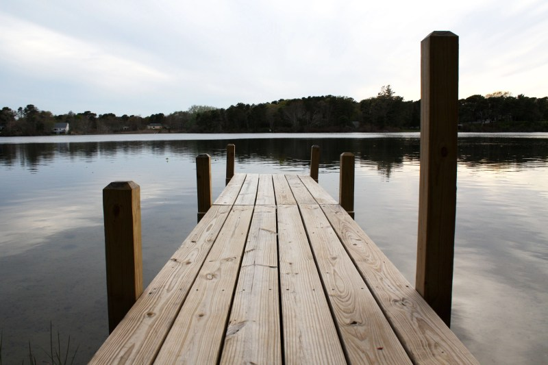 dock on Kelley's pond
