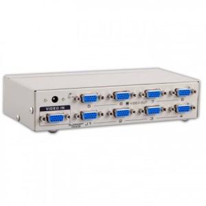 26539 S link SL 2508 8 portni VGA Splitter 1