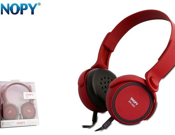 Slušalice Snopy SN 052 Crvene