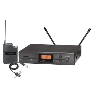 Audio-Technica 2000 Series UHF Wireless Lavalier Microphone System