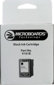 Microboards MCRV101B Black Cartridge for the CX-1; PF-3