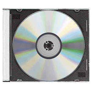 Black/Clear CD/DVD Slim Jewel Case 25 Lot