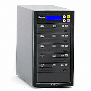 Recordex DVD500H One to Five CD/DVD Duplicator with Hard Drive