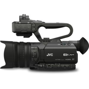 JVC GY-HM170U 4KCAM Compact Professional Camcorder with Top Handle Audio Unit FREE SHIPPING!
