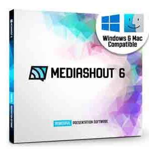 MediaShout 6 Worship and Ministry Presentation Software