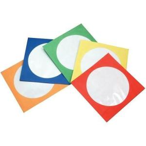 Colored Paper Sleeves for CD and DVD's