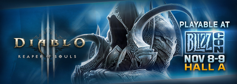 Reaper of Souls at BlizzCon® 2013 on PC and PS4
