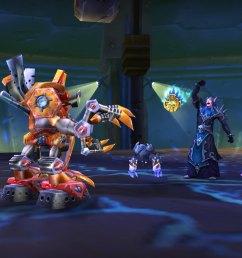 new pet battle dungeon gnomeregan [ 2400 x 1350 Pixel ]