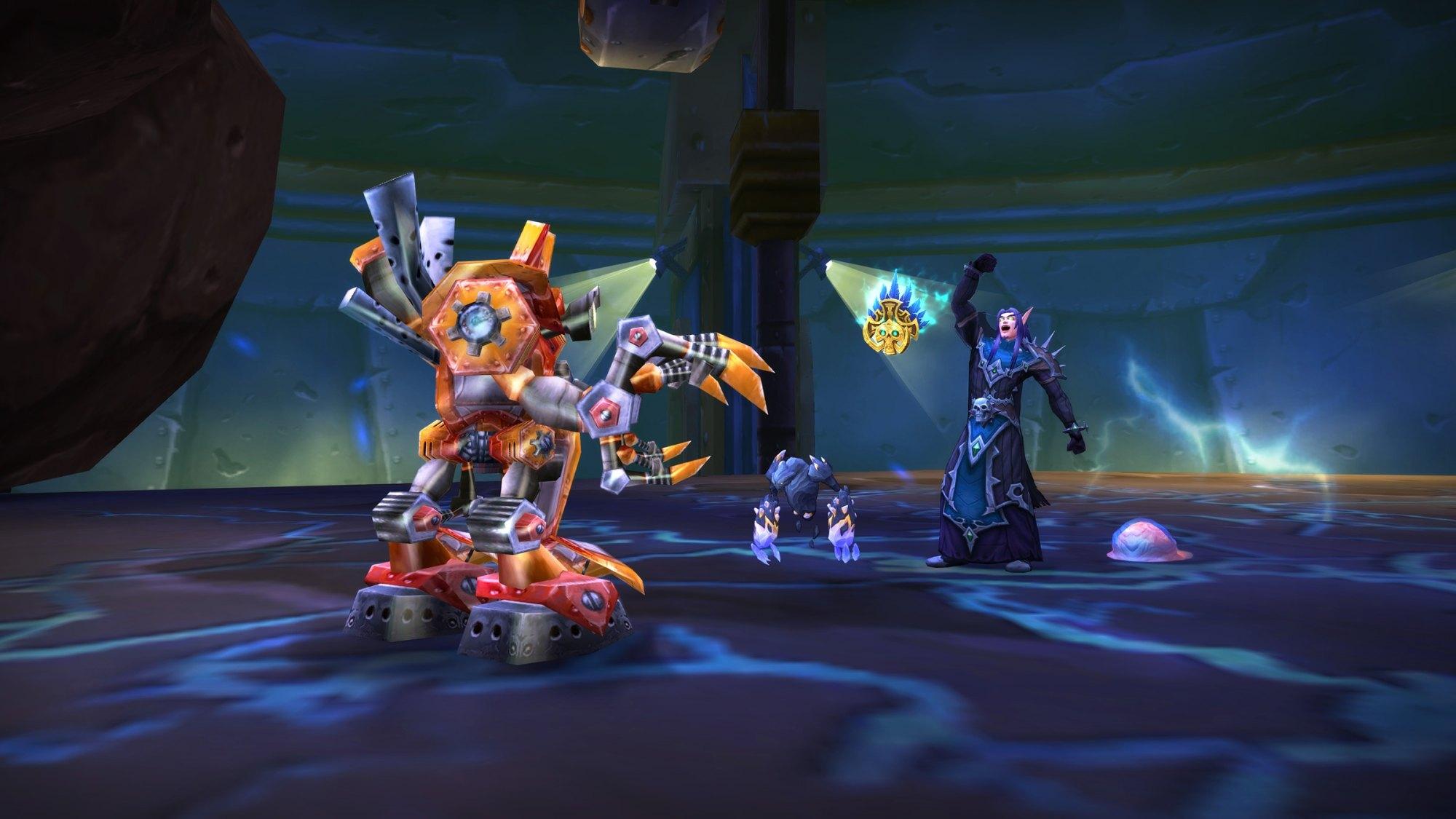 hight resolution of new pet battle dungeon gnomeregan