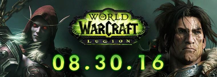 The Legion Returns August 30