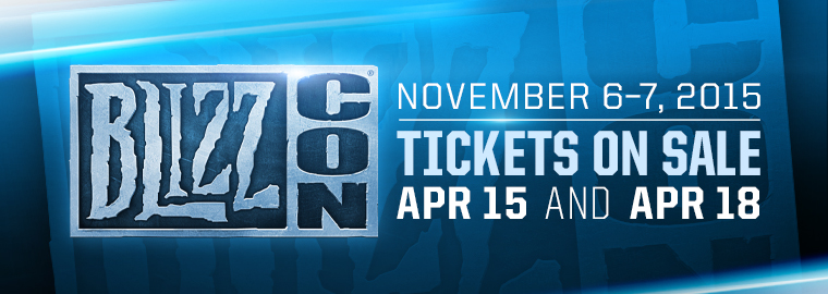 blizzcon 2015 tickets and