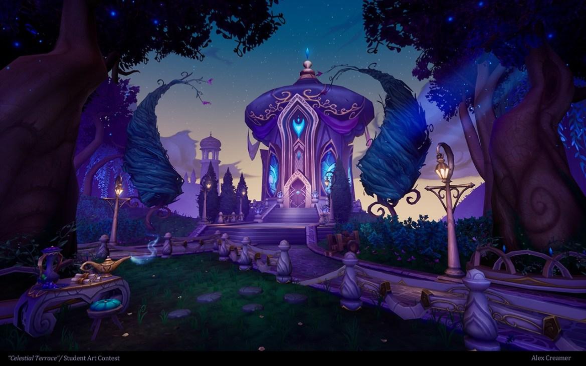 Celestial Terrace by Alexander Creamer- Laguna College of Art & Design