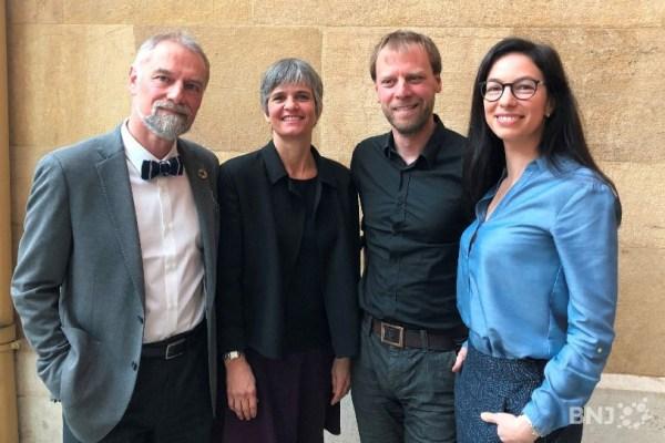 Roby Tschopp, Veronika Pantillon, Fabien Fivaz et Céline Vara partent en campagne pour les élections fédérales du 20 octobre 2019.